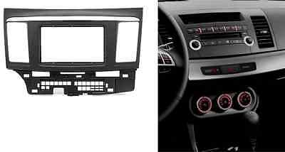 Fascia for Mitsubishi Lancer 2008-2013 facia dash kit facia Stereo DVD GPS Radio