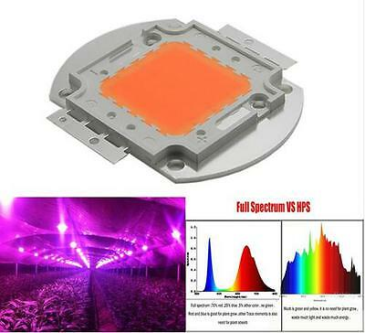 100W 380NM-840NM Full Spectrum High Power LED Chip Grow Light for hydroponics