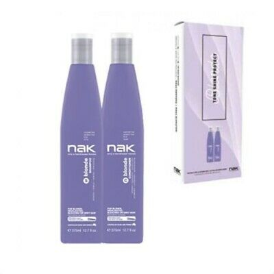 Nak Blonde Shampoo and Conditioner 375ml Duo Pack