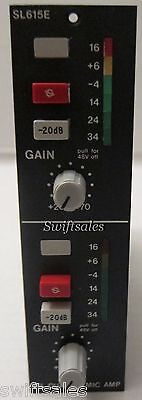 SSL Solid State Logic SL615E 2 Channel Microphone Mic Pre-Amp #1 - 100% Tested!