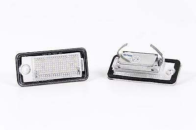 Seidos LED License Plate Light with E4 Characters For Audi Q7 07-09 NEW/OVP