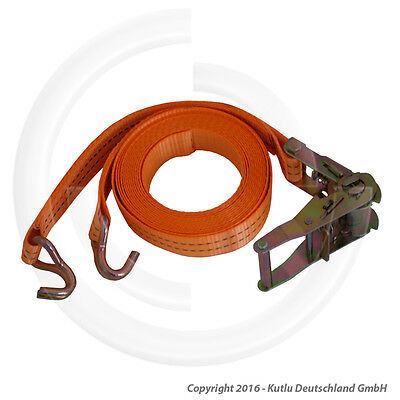 Ratched Load Securing Straps 2 M Long And 2 Tons