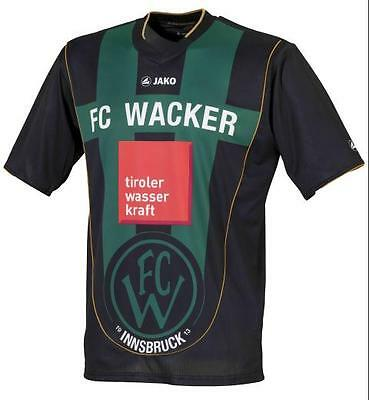 Brand New Genuine Jako FC Wacker Innsbruck 2011/12 Home Shirt  Adults S & LARGE
