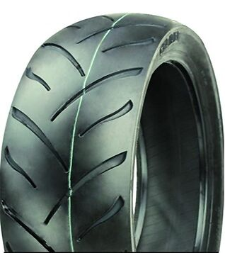 MAX Motorcycle Tyre 100/80-17 52S Tubeless 100 80 17 Rear / Front