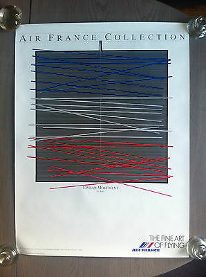 Affiche Air France Collection  N1  The Fine Art Of Flying