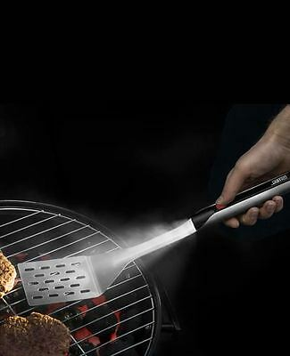 Grillight LED BBQ Spatula Stainless Steel Water Resistant NIB Great Gift