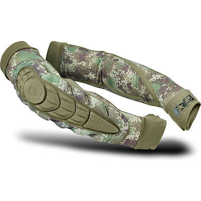 Eclipse Overload HD Core Elbow Pads - HDE Camo - Large - Paintball