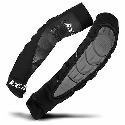 Eclipse Overload HD Core Elbow Pads - Grey  - X-Large - Paintball