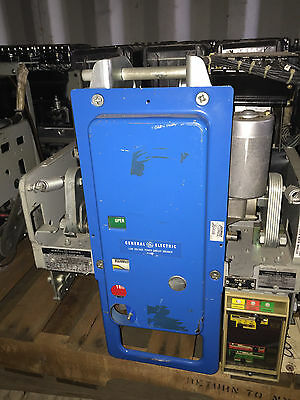 GE AKR-5AE-3 800A Air Circuit Breaker 480V, ELECTRICALLY OPERATED 125 VDC C&T