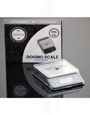 Coffee Gear 500g Digital Dosing Scales - Accuracy 0.1g - CGDOSE500