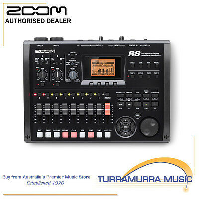 Zoom R8 - 8 Track Digital Portable Recorder / USB Interface / DAW Controller
