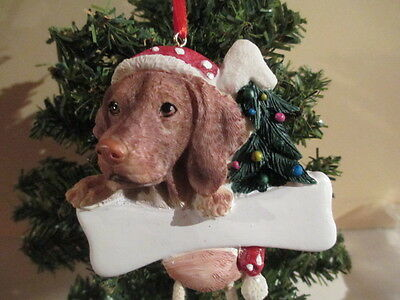 Vizsla  ~ Dangling Dog Ornament #55