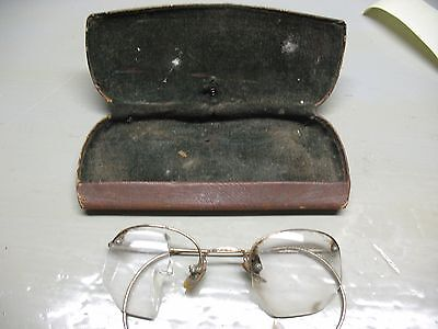 Shuron  1/10  12K Gf  Spectacles & Case  Antique  Originals