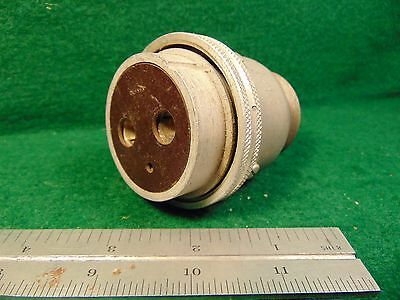 """(1) Cannon 3 Cond IK-W3S-21 1-1/4"""" B-AN Mil Plug  NOS"""