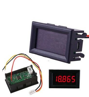 1PCS Red LED 5 Digit DC 0-4.3000-33.000V Digital Voltmeter Voltage Meter NEW