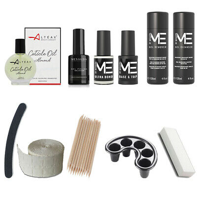 Kit Semipermanente Unghie Smalto Mesauda Milano Gel Polish Smalti Uv Offerta