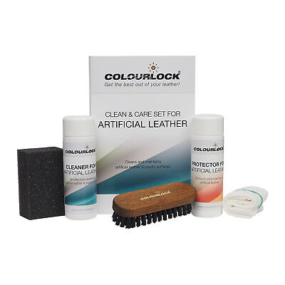 COLOURLOCK Artificial Leather Cleaner & Conditioning Kit furniture,cars clothing