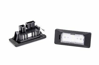 Seidos Led License Plate Light with E4 For Audi A1 Saloon /Sportback 2010
