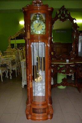 Italy Baroque Style  Hand - Carved Grandfather Clock