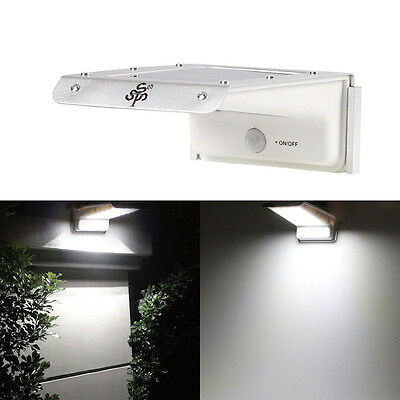 Waterproof 20 LED Solar Power Outdoor Security Light Lamp PIR Motion Sensor FH3