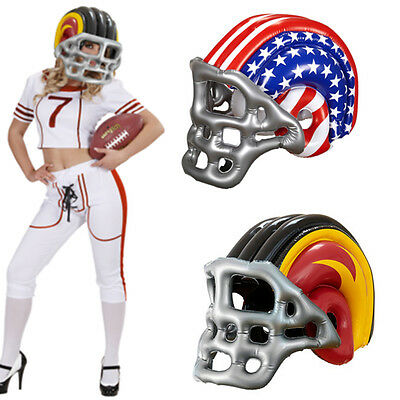 Inflatable American Football Helmet Superbowl NFL Fancy Dress Party Stag Do