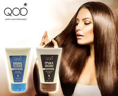 QOD MAX Organiq Brazilian Keratin Blow Dry Treatment  Formaldehydfrei 2er-Kit