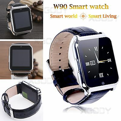 Waterproof SIM Smart Watch Phone Mate For iPhone Sony HTC Samsung Android IOS US