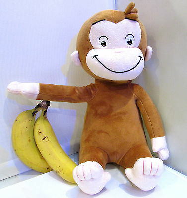 """12"""" (30cm)  Curious George Soft Plush Toy UK Seller (First Class Post)"""