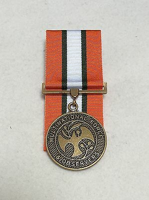 MFO Full Size Medal, Multinational Forces & Observers, Mounting Option, Military