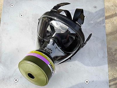 SGE 150 Gas Mask Kit w/40mm NATO *CBRN Approved* Filter & FREE Potassium Iodide!