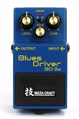 New! Boss Waza Craft BD-2W Blues Driver Overdrive Distortion Guitar Effect Pedal