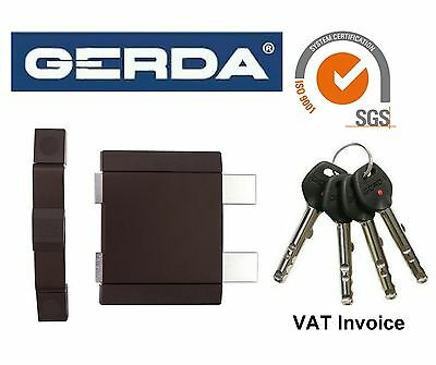 Gerda High Quality Surface Mounted Door Lock Deadlock Warehouse Office Shop Z2