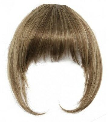 *CLEARANCE PRICE* Heat Resistant Synthetic Clip In Fringe / Bangs - RRP £14.99