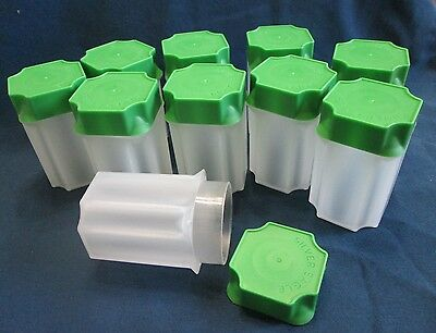 10 American Silver Eagle Square Coin Tubes - 10 Ase Tubes    New
