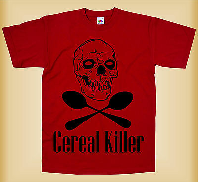 Camiseta para niños - CEREAL KILLER - FUNNY KIDS T-SHIRT