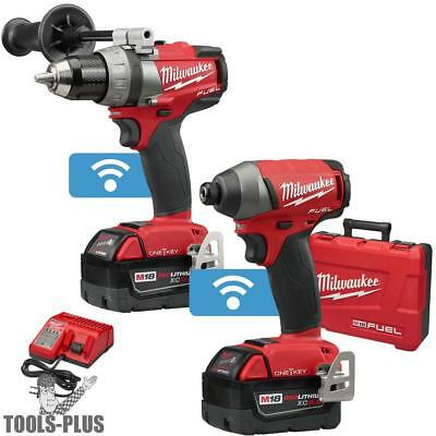 M18 FUEL 2-Tool Combo Kit with ONE-KEY Milwaukee 2795-22 New