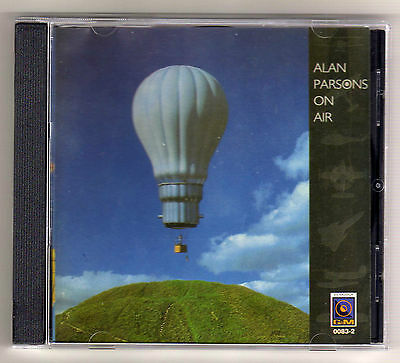 ALAN PARSONS Colombia Cd Album ON AIR 11 tracks 1997 Different Cover / 16