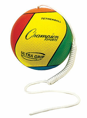 Ultra Grip Tetherball - Pro Laminated Dimpled Rubber Cover - Stingless Touch