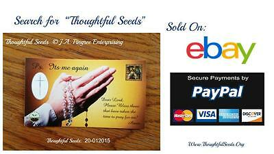 """Cards of Encouragement - """"Thoughtful Seeds"""" (20-012015 - Prayer 10 Pack)"""