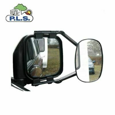 """Vision Caravan Towing Mirrors Suitable For All 4 X 4   - """"E"""" Approved  ( X 2  )"""