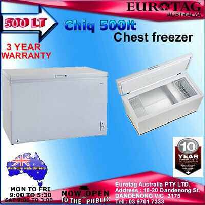 Eurotag 580Lt Commercial With Locks  Chest Freezer Rrp$1499.00  Brand New Save