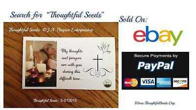 """Cards of Encouragement - """"Thoughtful Seeds"""" (5-012015 - Thoughts 10 Pack)"""