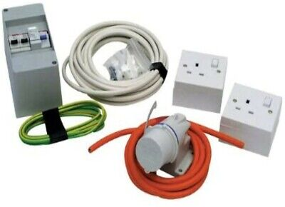 240V Caravan Horsebox Mains Electric Installation Kit -  Motorhome Camper Boat