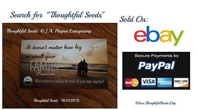 """Cards of Encouragement - """"Thoughtful Seeds"""" (16-012015 - Family 10 Pack)"""