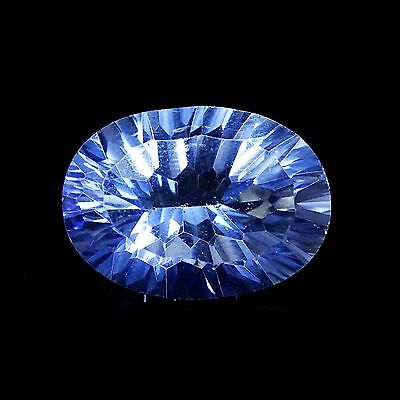 6.00CTS Excellent BLUE MYSTIC TOPAZ Oval Faceted Loose Superb Cut Gemstone