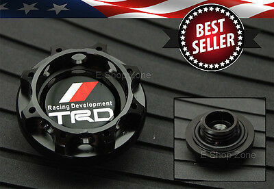 M37x3.0 Thread TRD Black Engine Oil Filler Cap Cover For LEXUS SCION TOYOTA