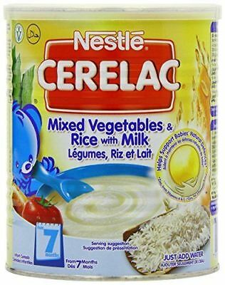 Nestle Cerelac Mixed Vegetables & Rice with Milk 400g (From 7 Months)