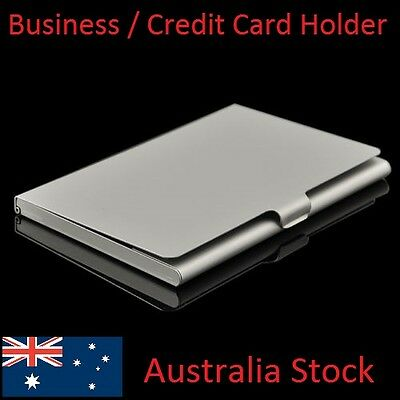 Business Card, ID, Drivers Licence, Credit Card Pocket Holder Alloy Hard Case