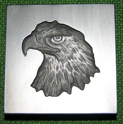 Graphite Glassblowing Lampwork 3D Eagle Head Glass Mold