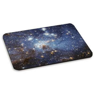 STARS NIGHT SKY CONSTELLATIONS PC COMPUTER MOUSE MAT PAD - Map Pattern